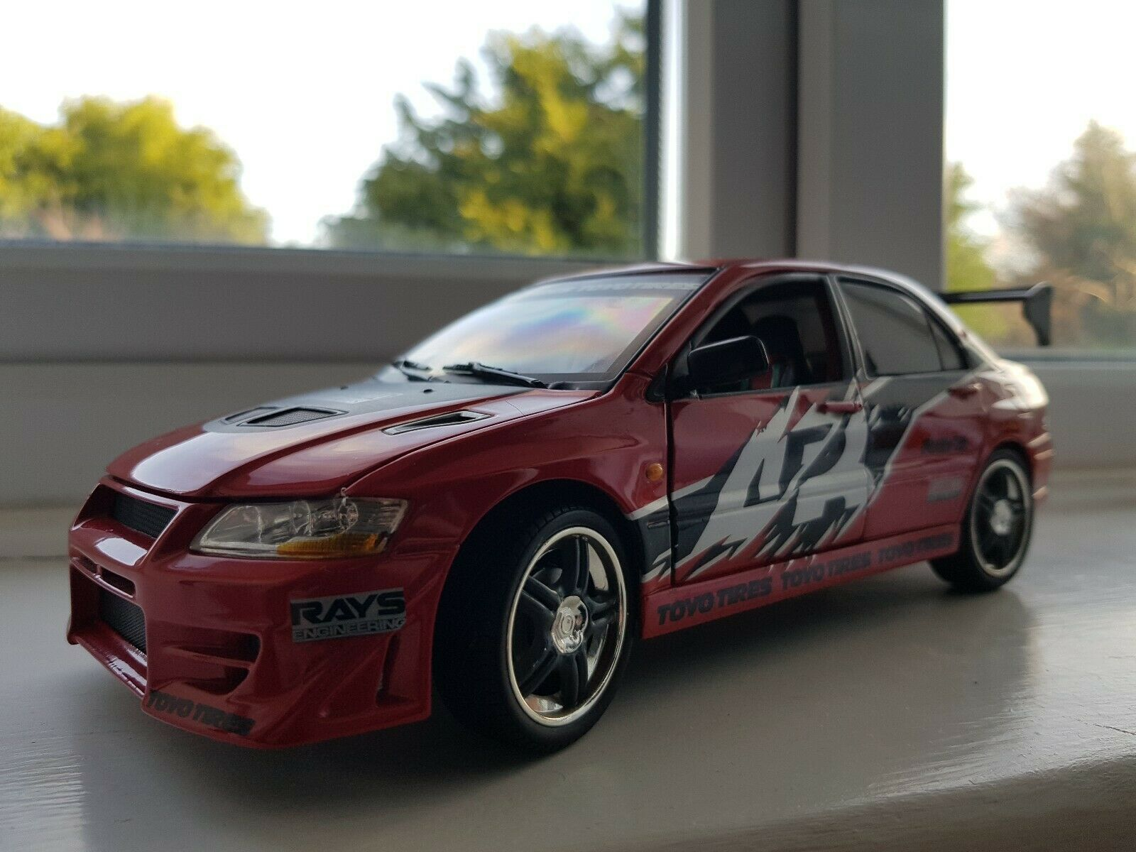 ERTL Racing Champions Fast and Furious Spielzeugko Drift Evo 1 18