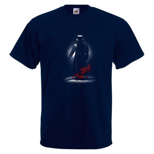 Jack Homme T-shirt imprimé Ripper London tueur Assassin CANNE CHAPEAU HAUT
