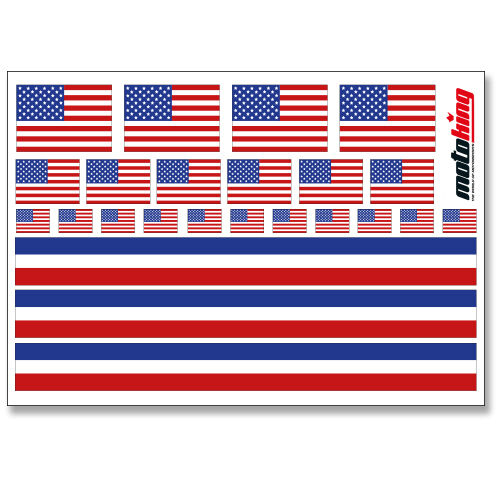 USA AUFKLEBER FLAGGEN STICKERHELM FAHRRAD MODELLBAU BOBBYCAR AUTO MOTORRAD