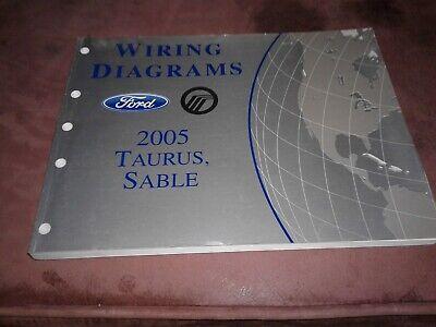 2005 Ford Taurus / Mercury Sable Wiring Diagrams Manual | eBay