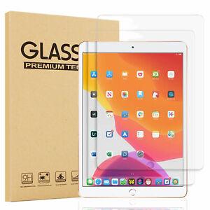 Para-iPad-10-2-pulgadas-2019-7th-GEN-Claro-Protector-de-pantalla-de-vidrio-templado-Cubierta