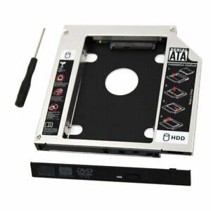 Universal-9-5-mm-SATA-2nd-SSD-HDD-Hard-Drive-Caddy-For-CD-DVD-ROM-Optical-Bay