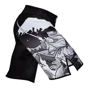 Fuji Shorts Sakana Fight Board Shorts No Gi BJJ Grappling MMA Jiu Jitsu