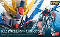 Gundam 1/144 Rg 23 Build Strike Gundam Full Package Real Grade Model Kit