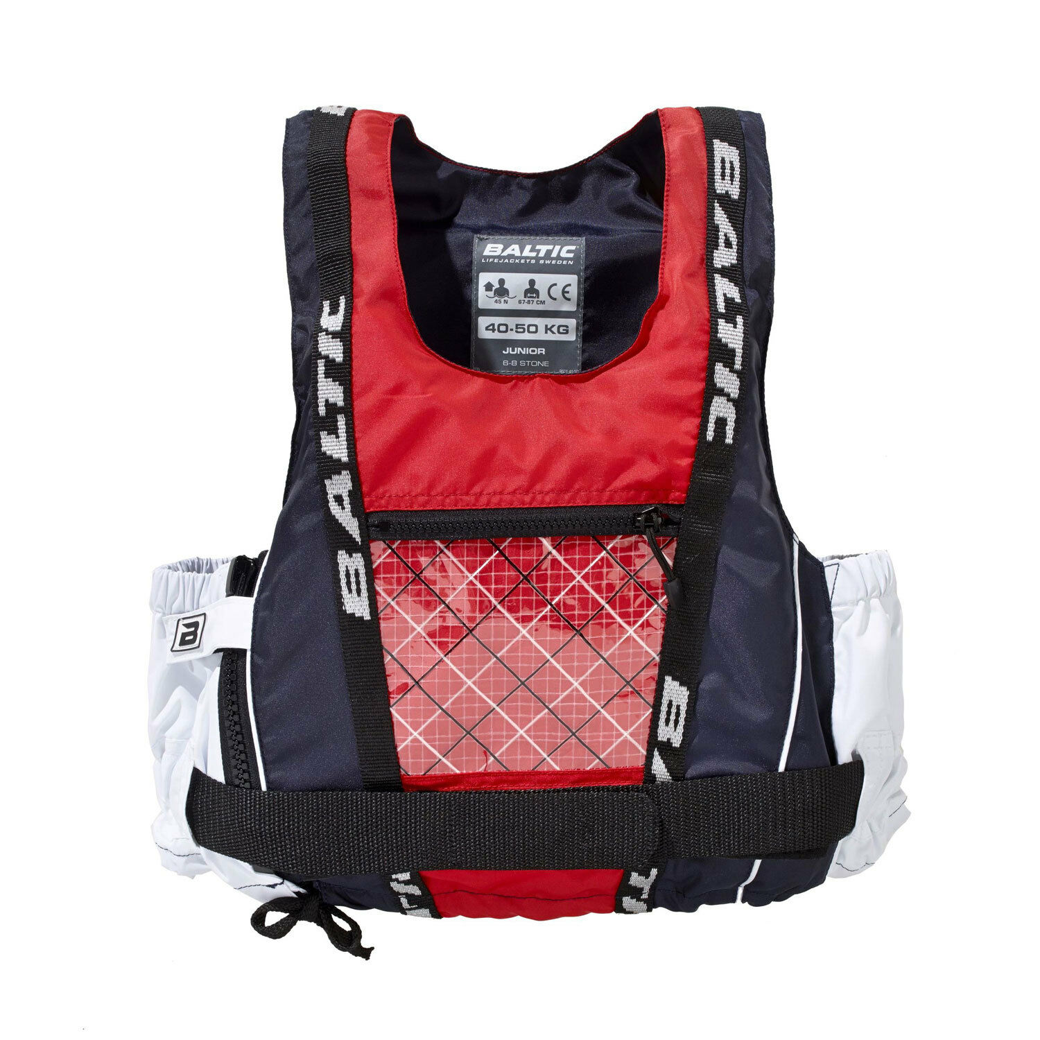 Baltic Dinghy Pro Buoyancy Aid - bluee Red White