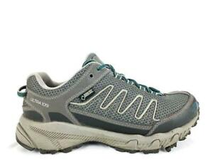 Gray Goretex Trail Running Shoes
