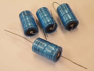 4 Piezas Condensador Electrolítico Axial Philips 1000uF 40 V Reino Unido stock A40-1K0 CM12