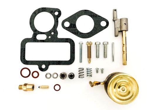 Farmall F12 F14 W12 W14 O12 O14 Tractor Carburetor Kit w// Float /& Throttle Shaft