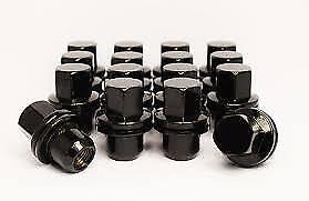 TDV6 14x1.5 OE Style Pour LR Discovery 3 2009 Roue Alliage Écrous Noir 20