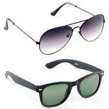 Combo Aviator and Wayfarer Style Sunglasses Goggles Sun Glasses Assorted Colour