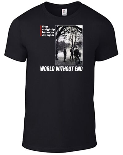 THE MIGHTY LEMON DROPS World Without End T-SHIRT vinyl CD C86 Happy Head Logo B