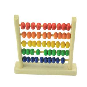 Rechenrahmen-Rechenschieber-Kinder-50-Kugeln-Holz-Zaehlrahmen-Abakus-DE