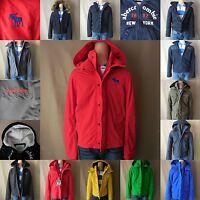 Abercrombie Kids Boy Jacket Size S M L Xl Blue Green Red Gray Hoodie Zip