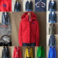 Abercrombie Kids Boy Jacket Size S M L Xl Blue Green Red Gray Hoodie Zip