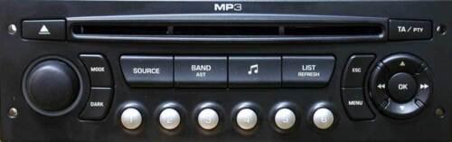 Peugeot 207 307 308 3008 407 607 807 Adaptador Bluetooth streaming de llamadas de manos libres