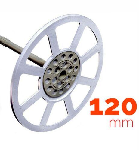 120 mm celotex marmox Kingspan 150 piezas Arandelas de plástico para placas de aislamiento