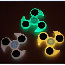 CHEAP~~1 LED Light Tri Hand Spinner Fidget Finger EDC ADHD Focus Anti Stress Toy
