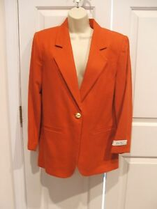 fed Car Størrelse Savanna Coat uld Pumpkin Nwt 4 Jacket 149 100 YzwIq