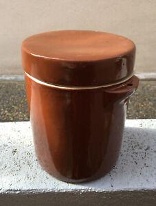 Décoration Cuisine - POT A GRAISSE 2 litres EN GRES + COUVERCLE aGqBaOh2-09122702-315367713