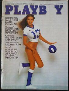 Playboy D 11/1979 November 1979 Cher Renate Lünsmann