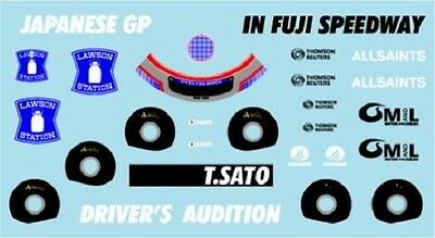Affidabile F1 Decals Museum Collection D511 1/43 For Williams Fw30 & Toro Rosso Str3