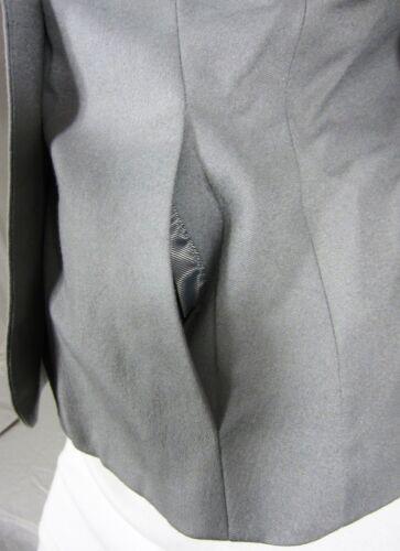 One chiaro Banana Button chiaro grigio con taglia Republic Br 2 arricciato Blazer scollo qxBwZ4gH