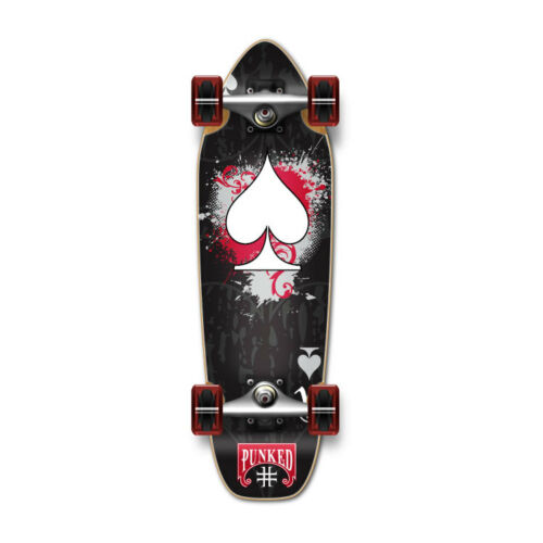 Black Ace Yocaher Mini Cruiser Ace of Spades Complete