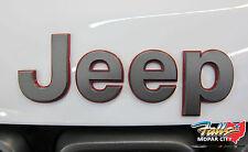 2014-2017 Jeep Grand Cherokee Trail Hawk Trailhawk Hood JEEP Emblem Mopar OEM