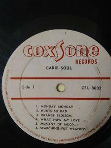 The-Soul-Bros-Carib-Soul-Vinyl-LP-1967-COXSONE-FIRST-PRESS