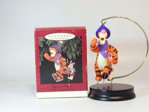 Disney/'s Winnie the Pooh QX5705-SDB Hallmark Ornament 1993 Tigger and Piglet