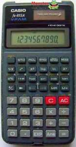 CASIO SCIENTIFIC CALCULATOR FX-85 FX85 FX85SA 12 MONTH WARRANTY AUSSIE SELLER