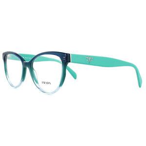 11851321836 Details about Prada Glasses Frames PR01UV VX61O1 Gradient Green 52mm Womens