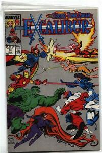 Excalibur-1988-Series-9-10-11-12-13-14-15-16-17-18-NM