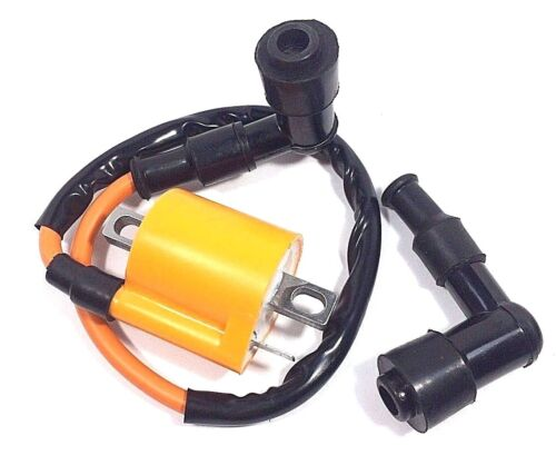 NEW PERFORMANCE IGNITION COIL YAMAHA WOLVERINE 450 YFM450 2006-2010 EXTRA CAP