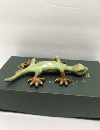 Ceramic Gecko// Handmade craft// Perfect gift// Fine art Golden Pond Collection