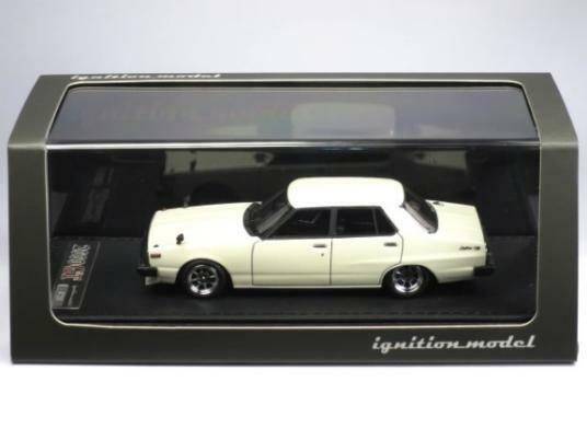 Zündung modell 1   43 skyline 2000 gt-el (c210) weiße hayashi rad   ig0317