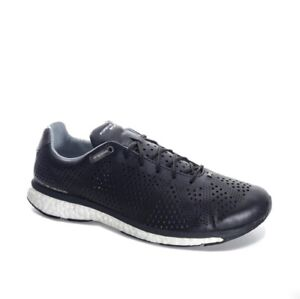 first rate d734b fe4e4 Details about Adidas Porsche Design - ENDURANCE BOOST I LEATHER SNEAKERS  BLACK - US7.5 US8.5