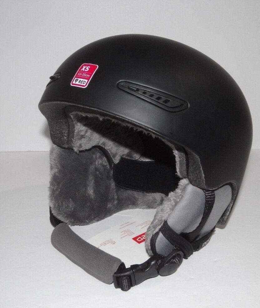 Neu rot By Burton Pur Ski Snowboard Helm 53 - 55 Cm