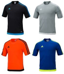 c808dfd0f Adidas Men Estro 15 Shirts S/S Soccer Jersey Football Climalte Top ...