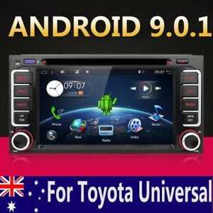 2DIN-AUDIO-ANDROID-9-0-CAR-GPS-VIDEO-For-TOYOTA-RAV4-PRADO-LANDCRUISER-HILUX