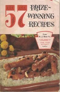 Heinz-57-Sauce-Vintage-57-PRIZE-WINNING-RECIPE-Small-Cookbook-1957-31-pgs
