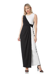 10 Dress 20 avorio Taglie romane delle donne Maxi Wrap monocromatica 5qOn6wx8U