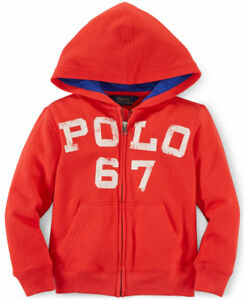 4ae4713da Image is loading NWT-Ralph-Lauren-Polo-Boys-French-Terry-Full-