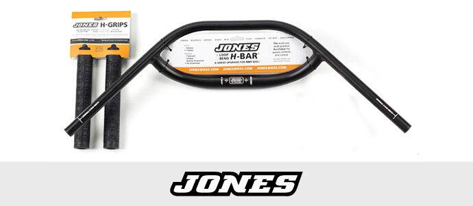 Jones SG Loop H-Bar 2.5 31.8 710 handlebar with Jones Grips