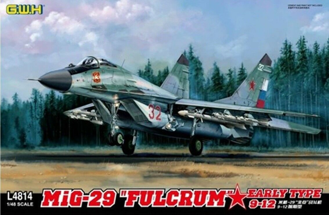 GreatWall 1 48 L4814 Mig-29  Fulcrum   9-12 Early Type