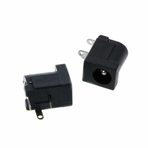 10PCS DC005 PCB Mount 3 Pins 2.1mmx5.5mm DC Female Socket Power Jack