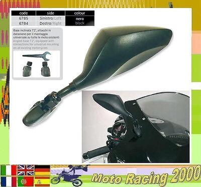 COPPIA SPECCHIETTI RETROVISORI DA CARENA HONDA CBF 1000 2006 MOTO NERO