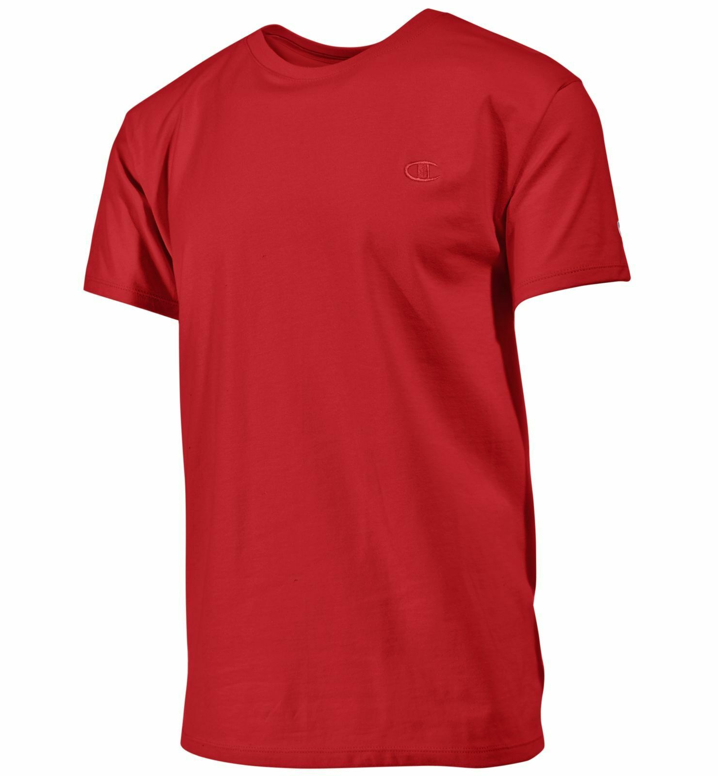101be5eaf525 2 Champion Men's Classic Jersey Tee Shirts T0223 M Scarlet for sale online  | eBay