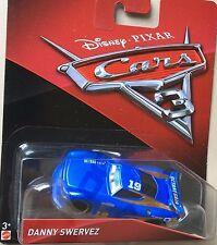 Disney Pixar Cars 3 Danny Daniel Swervez #19 New Octane Gain Diecast Mattel 1:55