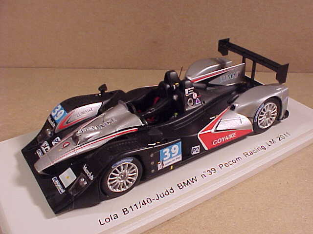 Spark 1 43 Résine Lola B11 40-judd BMW, 2011 Mans, Pecom Course,  39  S2531